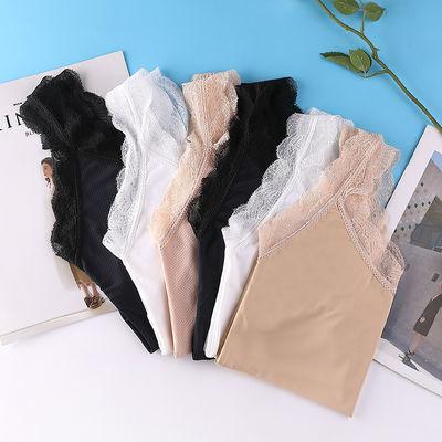 内衣女学生韩版睡衣蕾丝美背性感裹胸百搭打底小背心女透气外穿