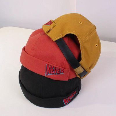 春季新款儿童帽子男女童潮款瓜皮帽宝宝地主帽小孩时尚复古造型帽