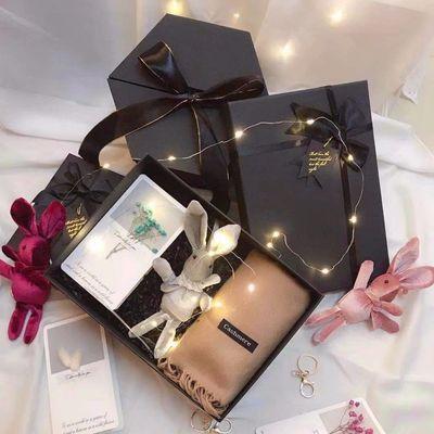 生日礼物女生圣诞礼物盒创意暖心围巾送女友老婆闺蜜走心浪漫【3月16日发完】