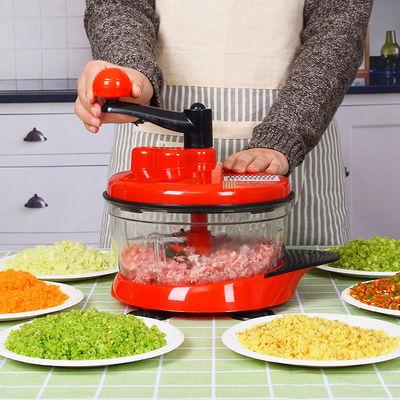 家用手动绞肉机绞菜机绞蒜机饺子馅机打碎机多功能切菜器厨房用品
