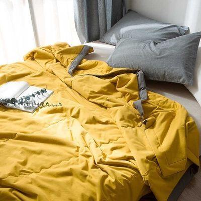 【可裸睡】特价抢水洗棉夏凉被空调被薄被子单双人床单儿童学生被