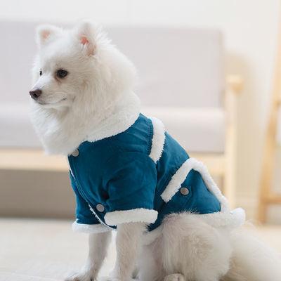 狗狗衣服泰迪博美比熊法斗柯基小型犬小狗冬季加厚秋冬装宠物服饰