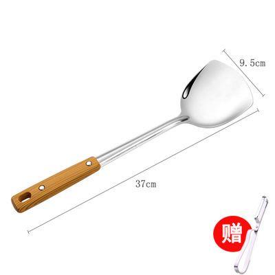 加厚不锈钢锅铲全套勺铲煎炒菜铲子家用厨房用品勺子漏勺汤勺套装【3月8日发完】