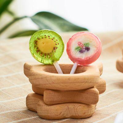 随你想水果切片棒棒糖创意儿童棒棒糖糖果休闲零食手工水果糖喜糖