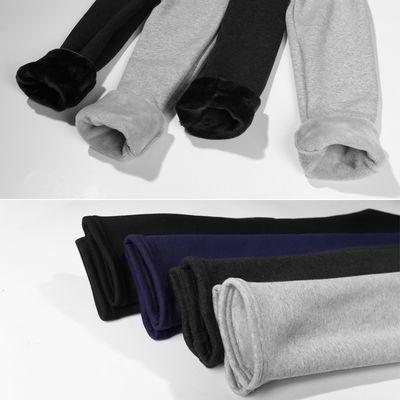 【95棉】加绒加厚纯棉超柔一体绒韩版冬季保暖经典女士外穿打底裤