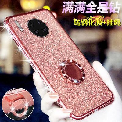 华为mate30手机壳meta30pro保护套mt30por钻m30女LIO一AL00软TAS