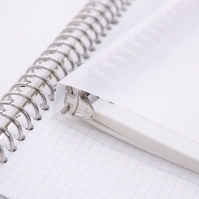 【送替芯】苏铁时光b5活页本笔记本子加厚可拆卸A5学生网格线圈本【3月1日发完】