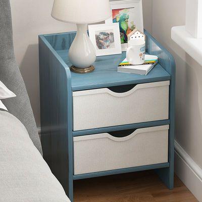 北欧床头柜卧室小型柜经济型简易床边桌简约现代收纳小柜子储物柜