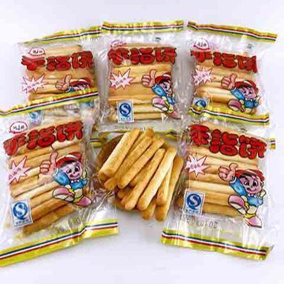 手指饼干早餐饼干零食手指饼干零食品1袋25G脆脆棒奶香味手指饼干
