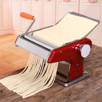 家用面条机小型多功能压面机手动不锈钢擀面机饺子馄饨皮机揉