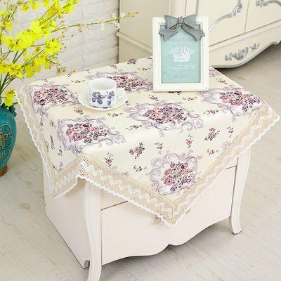 万能盖巾床头柜盖布电视机罩防尘罩冰箱盖布洗衣机床头柜多用巾