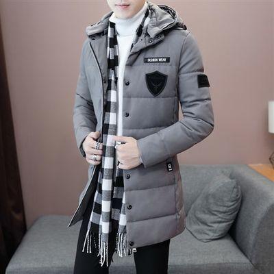 冬季中长款款棉衣韩版休闲帅气棉衣外套电商A158-M8636