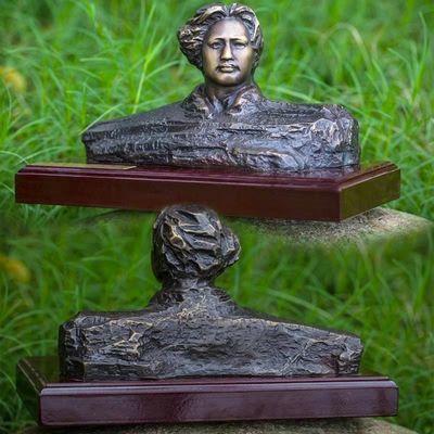 毛主席铜像 橘子洲青年头像纯铜器人物摆件雕像毛爷爷纯铜像礼品