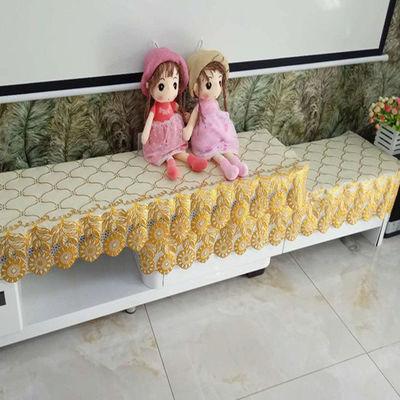 定制烫金桌布电视柜台布垫茶几床头柜罩鞋柜盖布防水长方形餐桌布