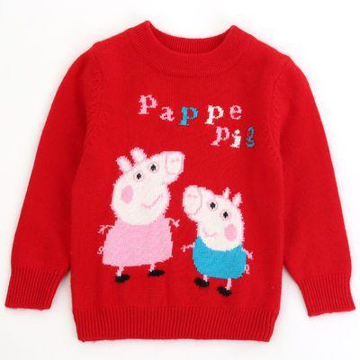 女童羊绒衫套头打底衫中大童儿童羊毛衫手工宝宝加厚毛衣秋冬新款