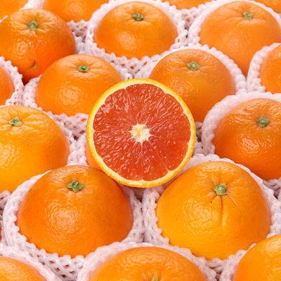 秭归中华红血橙应季新鲜橙子水果脐橙现摘现发孕妇水果酸甜多汁
