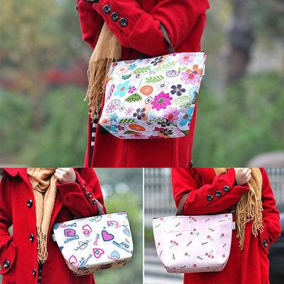 【炫彩手提袋】妈咪包女包防水手提布包饭盒袋保温保冷保鲜袋