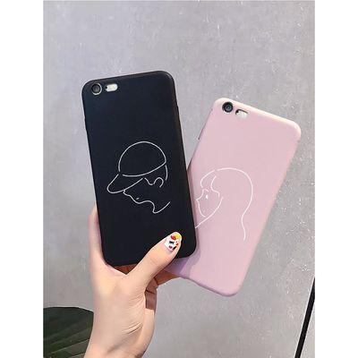 苹果iphone6 女手机壳6P网红个性简约6SPlus防摔软硅胶创意6S情侣