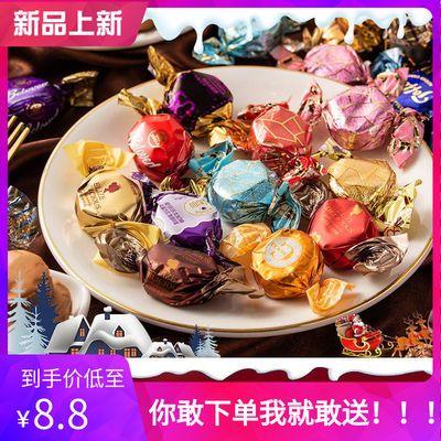 糖果太妃奶糖高颜值结婚满月喜糖客客年货夹心牛奶糖香浓250g可选