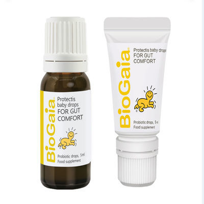冷链配送  瑞典BioGaia/拜奥婴幼儿童益生菌罗伊氏乳杆菌滴剂5ml