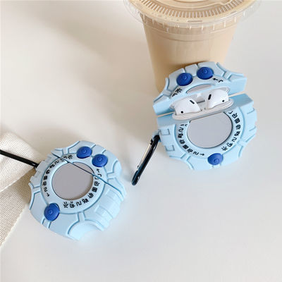 airpods保护套暴龙机苹果蓝牙无线耳机套airpods2保护壳硅胶软盒【3月15日发完】