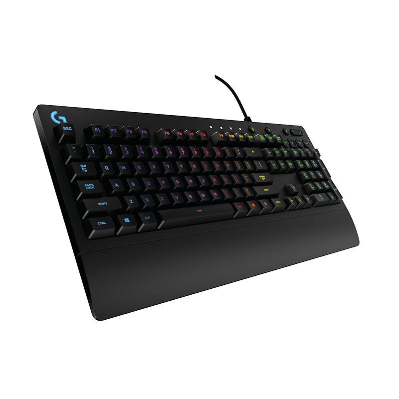 4倍回馈灵敏度,11键无冲:Logitech罗技 G213 全尺寸有线RGB游戏键盘