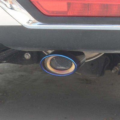 。上汽大通G10V80T60汽车排气管装饰改装通用尾喉尾嘴烟筒排气