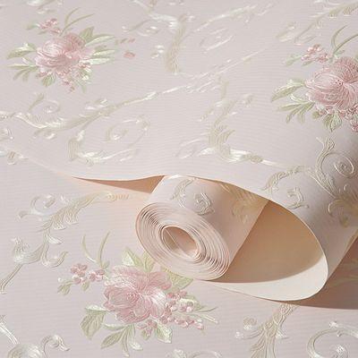 墙纸自粘卧室温馨新3d立体无纺布墙纸客厅电视背景墙墙壁纸墙贴纸