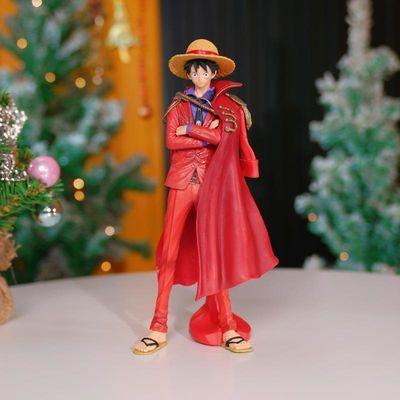 灯光礼盒装,路飞索隆onepiece手办公仔模型周边圣诞节生日礼物