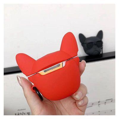 斗牛犬Airpodspro保护盒airpods12代保护套蓝牙3代耳机套硅胶软【3月15日发完】