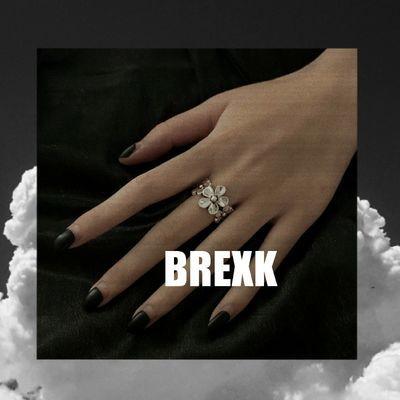 小雏菊戒指可调节做旧复古泰银银色花朵闺蜜土酷女孩冷淡蹦迪街头