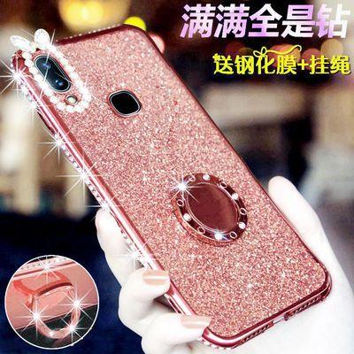 vivoX21S手机壳X21UD软x21a后指纹保护套viviX21ia闪钻viv0x21i女