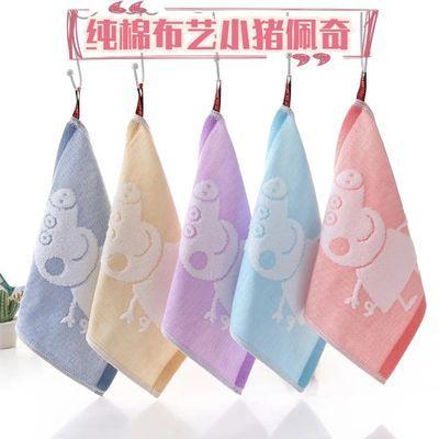 3-10条装加厚纯棉小毛巾柔软吸水儿童洗脸巾正方形洁面小方巾手帕