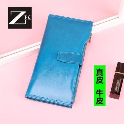 ZK女士手拿包钱包女长款钱夹皮夹多功能手机包多卡位零钱包女卡包