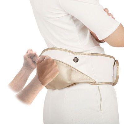应坤腰部按摩器加热电动腰间盘腰椎仪颈肩颈部背热敷脖子多功能