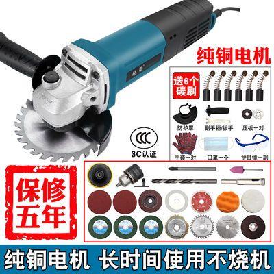 大功率角磨机调速家用磨光机砂轮机磨机手磨机打磨机电动工具