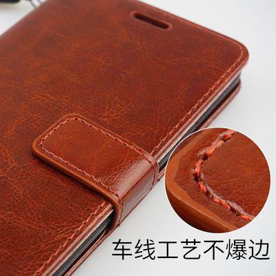 华为荣耀畅玩7x手机壳BND-AL10翻盖式皮套全包防摔软硅胶送钢化膜