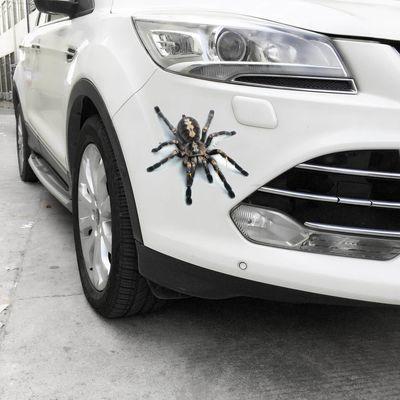 汽车贴纸装饰贴划痕遮挡创意个性文字防水拉花车身贴子弹孔车贴纸