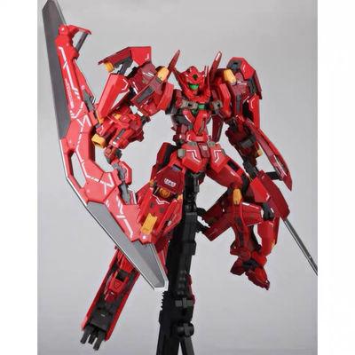 现货秒发模星hs正义女神F红色雪崩1/100mg拼装高达模型玩具