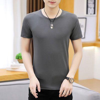 纯棉夏季t恤新款个性衣服男学生韩版原宿男装潮流体恤短袖情侣装
