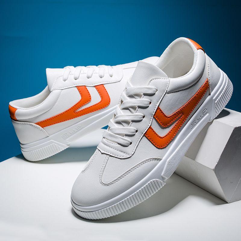 20年春季新款男休闲运动鞋百搭学生板鞋韩版时尚跑步小白男单鞋子