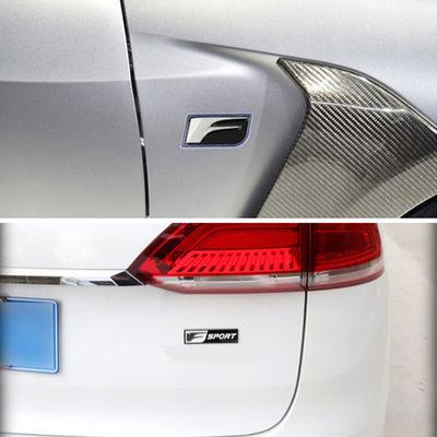 雷克萨斯凌志 IS200T ES RX NX CT200改装FSPORT车标车贴尾标侧标