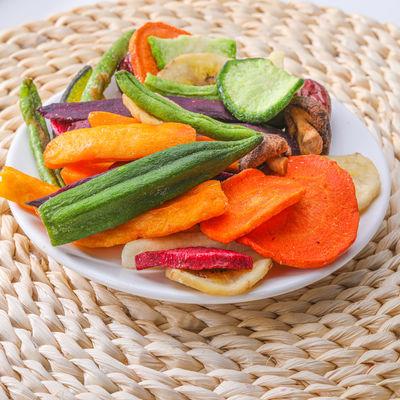 综合什锦果蔬脆片混合装蔬菜干零食蔬果干秋葵香菇儿童 250g/500g