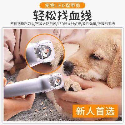 多功能宠物狗狗猫咪led灯宠物指甲剪小型犬放大镜指甲剪套装组合