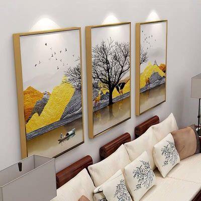 客厅装饰画后现代轻奢风沙发背景墙挂画北欧风格玄关卧室餐厅壁画