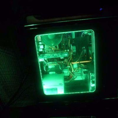 12V电脑主机光污染跑马呼吸灯灯带机箱DIY遥控七彩RGB变色LED灯条