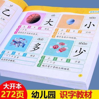 儿童学前识字书籍幼升小常用字生字题卡有图识字宝宝早教识字大王