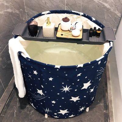 加厚折叠洗澡桶家用成人大号泡澡桶浴桶儿童洗澡桶浴盆婴儿洗澡盆