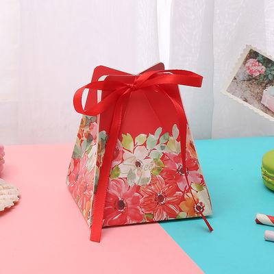 2019新款喜糖盒结婚抖音森系创意浪漫批发糖果盒子中国风婚礼糖袋
