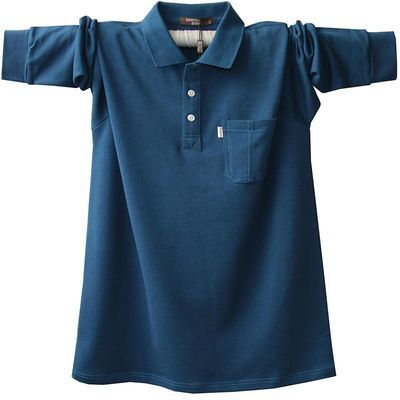 版型: 标准; 上市时间: 2019年; 品牌: 圣铠狮; 棉含量: 95%以上; 袖型: 常规; 印花主题: 城市风貌; 领型: 翻领; 袖长: 长袖; 适用对象: 中年; 材质成分: 棉100%; 面料分类: 其他; 材质: 棉; 细分风格: 基础大众; 服饰工艺: 免烫处理; 基础风格: 时尚都市; 颜色: 宝蓝色 牛仔蓝 浅灰 黑 牛仔蓝色 深蓝 浅灰色1 黑色1 牛仔蓝1 黑色 浅灰色 深蓝色; 适用季节: 春季; 花型图案: 纯色; 货号: 1870/1873; 尺码: 4XL 5XL M L XL 2XL 3XL; 厚薄: 常规; 款式细节: 口袋; 品牌类型: 时尚潮牌; 适用场景: 日常;